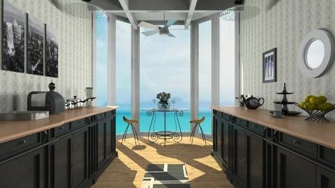 Beach Kitchen - Modern - Kitchen  - by fenwayb