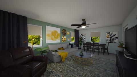 Stretton 2 - Living room  - by krdiben