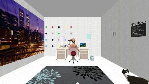 Fashion Room - Modern - Office - by Flower_25