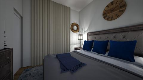Alvis Bedroom Opt 2 - Modern - Bedroom  - by Redesigned Finds