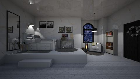 snowing - Modern - Bedroom  - by imane_lahjouli