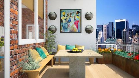 Balcony Garden - Modern - Garden  - by giulygi