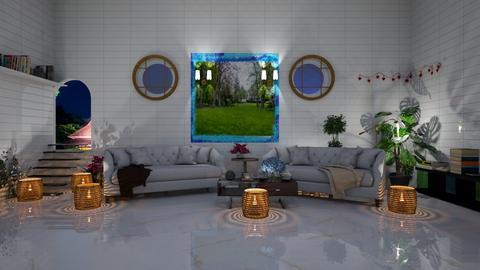 living room - Dining room  - by malithu damsath