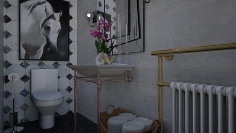 Parter Bathroom - Eclectic - Bathroom - by Nicoleta B