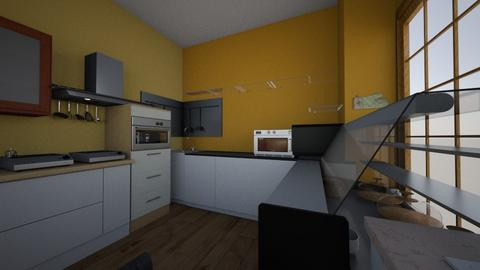 Side 2 - Classic - Kitchen  - by jwal p