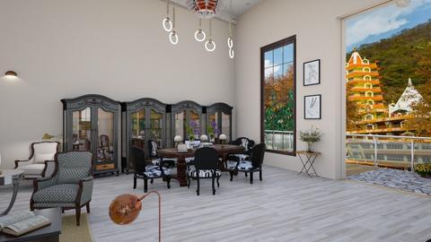 eww56gf - Modern - Dining room  - by neumediadesigns