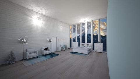 Winter bedroom in home - Bedroom - by ejm10