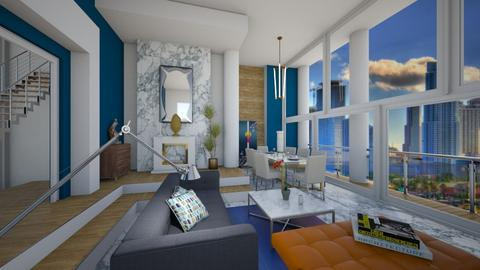 Miami Dreams - Living room - by ppolicar