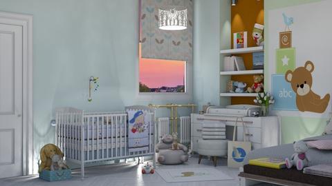 Baby room - Bedroom  - by nat mi