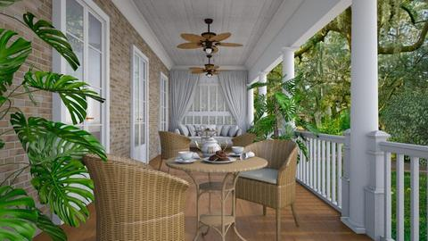 Lowcountry Porch - by Valentinapenta