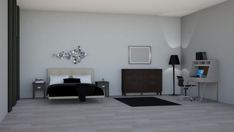 Simple Bedroom - Modern - Bedroom  - by Kat1121