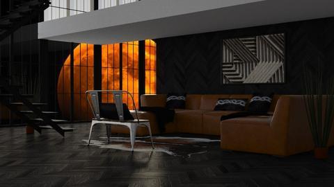 Harvest Moon - Rustic - Living room - by millerfam