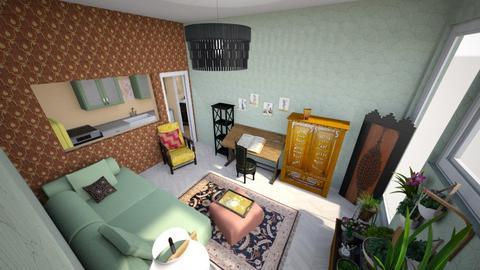 Boho 20s Studio - Vintage - Living room - by KajsaRain