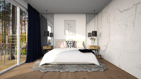 Minimalist Bedroom - Bedroom  - by hannah25