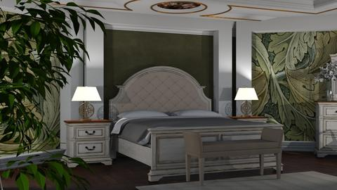 Art Nouveau - Bedroom  - by ivetyy1010