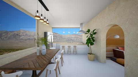 Desert Kitchen - Kitchen  - by heyfeyt