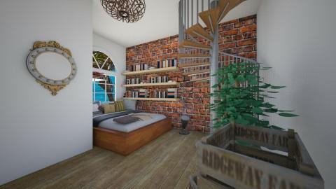 Knihoizba - Country - Bedroom  - by Zuzana K