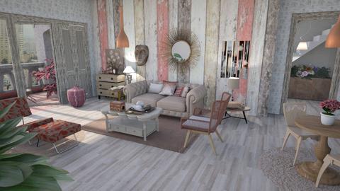 Her wood - Feminine - Living room  - by augustmoon
