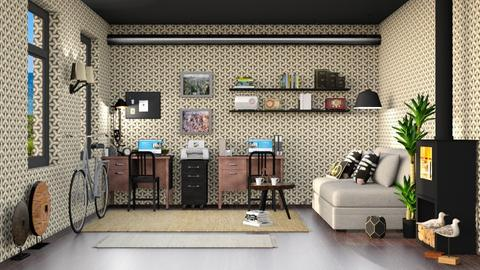 Nori North - Office  - by Ferplace
