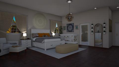 Mstr Bdrm - Modern - Bedroom  - by alonatech_2nd