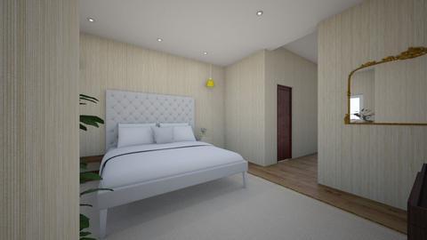 bedroom for designkitty31 - Modern - Bedroom  - by llama_555