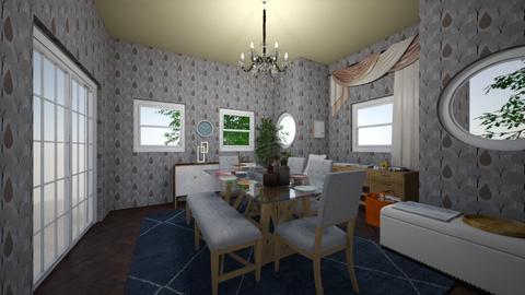 Dining room - Dining room - by Yasmin Kuti