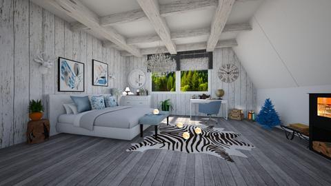 attic room - Bedroom  - by victoriakandy