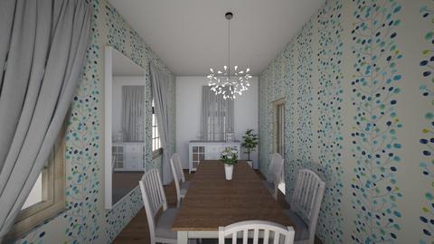 Zuzia - Dining room - by Zuzia2006
