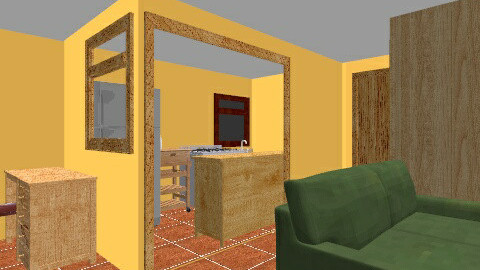 casa la granja - Country - Living room - by puentecita