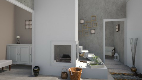 Concrete House 3 - Minimal - by idna