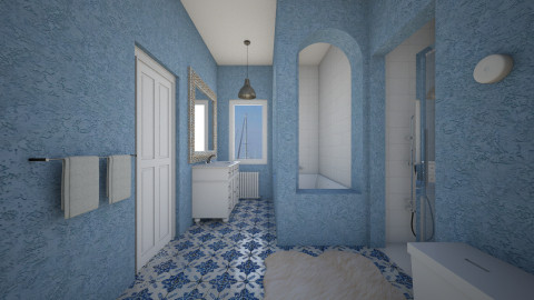 P - Bathroom  - by yonvie