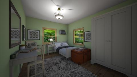 Guest Bedroom - Bedroom - by chocolatedonut71