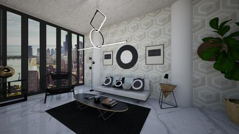 The Language of Shapes - Eclectic - Living room  - by timeandplace