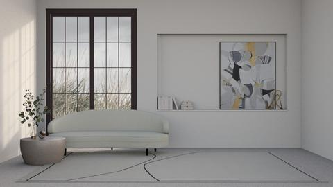 minimalist  - Minimal - Living room  - by CallMePippa