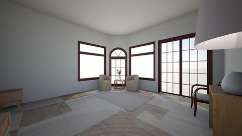 Dormitorio Suite - Living room  - by Ambar Hurtado