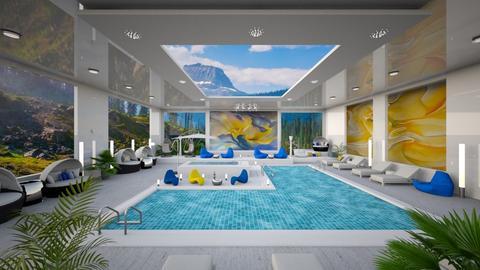 O'Keeffe Inspired Pool - by Alexandra_21