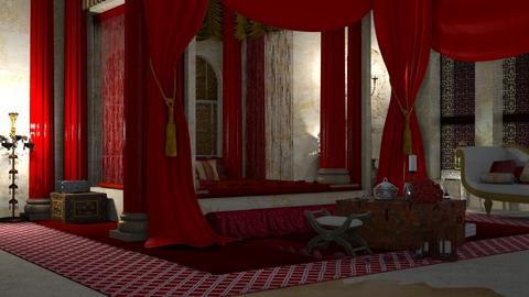 aladdin - Bedroom  - by BugsBunny24