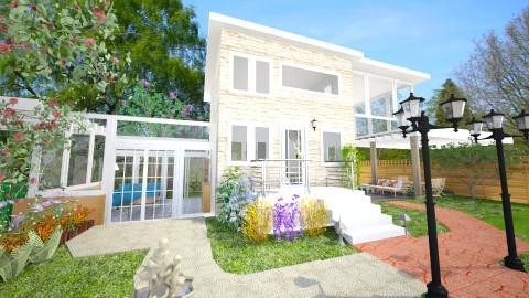 Frontyard - Modern - Garden  - by narmibhat
