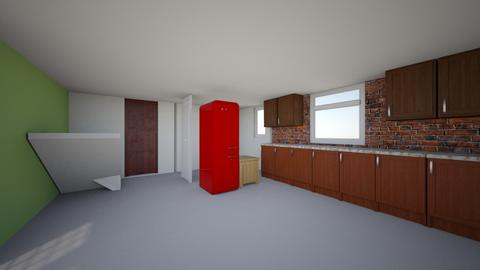 oaza 2 - Living room  - by kecaj27