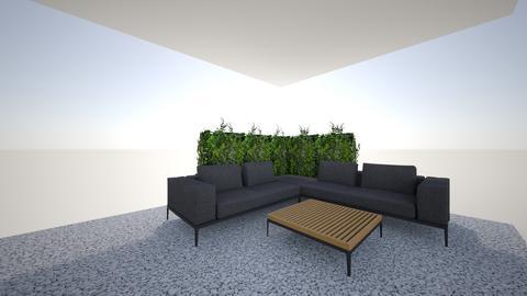 Grid_ottoman_2 sofa_table - Garden  - by Giacomo3rd