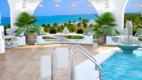 Hotel Pool Template - by Karen Priest