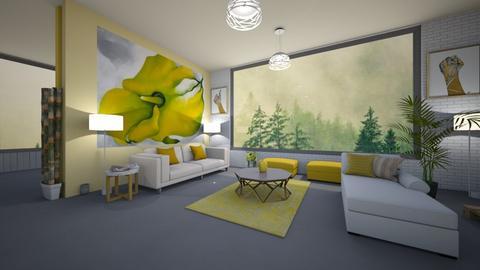 living room  - Living room - by nasiha