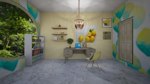 seaside lemon office - Office  - by seasidestarfish