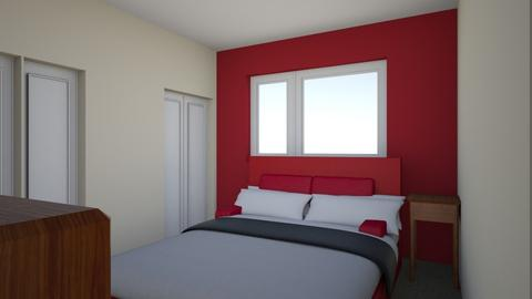 Red Room Refurb - Retro - Bedroom - by speedbird48