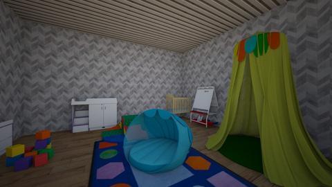 My first eding - Kids room - by Franzusi
