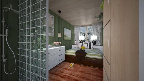 M_Container home_bedroom - Bedroom  - by milyca8