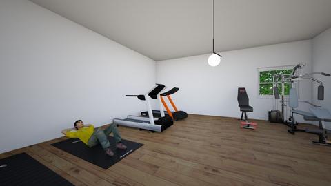 gym - by Ahmadkaj