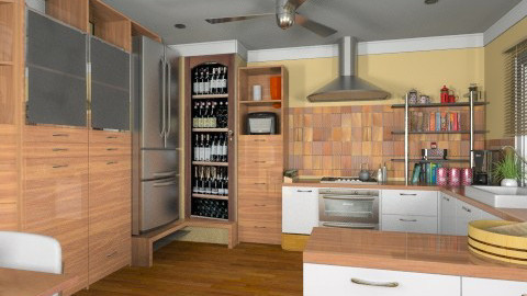 Bo Concept4  - Modern - Kitchen  - by Bibiche