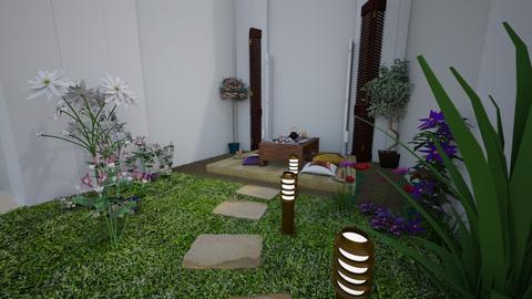 Patio ejemplo - Garden  - by clasesytutorias