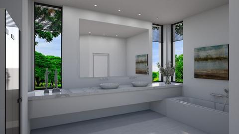 Cascais - Modern - Bathroom  - by Claudia Correia